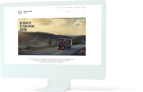 Volvo Trucks: case Pinpoint