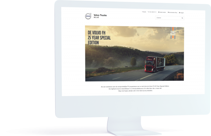 Volvo Trucks - case Pinpoint